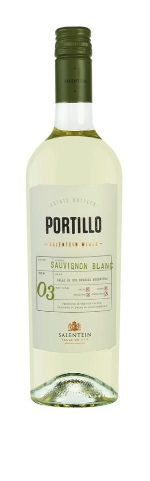 FLES PORTILLO SAUVIGNON BLANC 0.75 LTR.-0