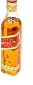 MINIATUUR JOHNNIE WALKER RED LABEL 0.05 LTR-0