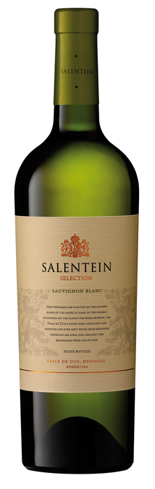 FLES SALENTEIN SELECTION SAUVIGNON BLANC 0.75-0
