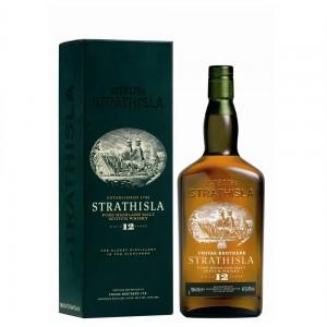 FLES STRATHISLA WHISKY 12 Y 1,0 LTR-0