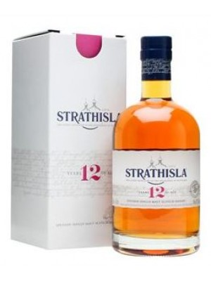 FLES STRATHISLA WHISKY 12 YEARS OLD 0.7 LTR-0
