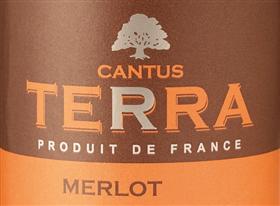 FLES CANTUS TERRA MERLOT 0.70 LTR-0