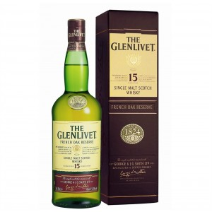 FLES THE GLENLIVET FRENCH OAK 15YO 0.7 LTR-0