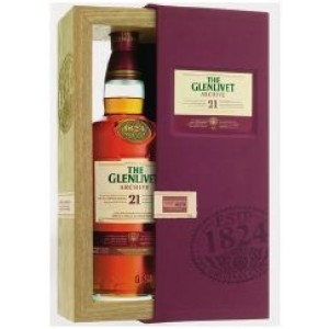 FLES THE GLENLIVET 21YO ARCHIVE 0.7 LTR-0