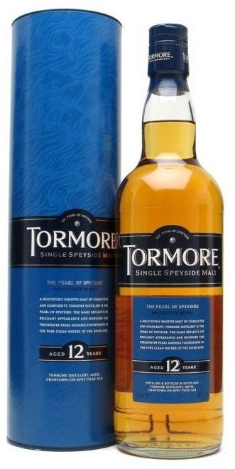 FLES TORMORE 12 YEARS OLD 1,0 LTR-0