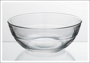 VERHUUR SLASCHAAL GLAS 23CM-0