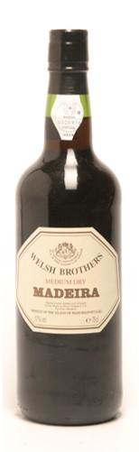 FLES MADEIRA MED.DRY WELSH BROTHERS 0.75 LTR-0