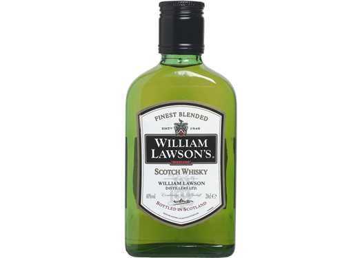 FLES WILLIAM LAWSON WHISKY 0.20 LTR-0