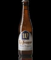 FLES LA TRAPPE WITTE TRAPIST 0.33 LTR-0