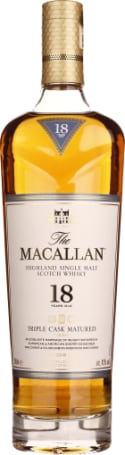 THE MACALLAN FINE OAK 18 YEARS 0.7 LTR