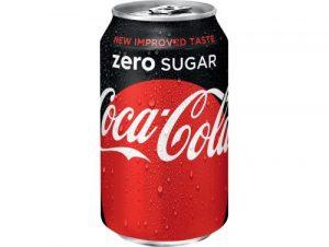 Cola zero blik