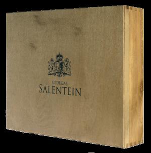 SALENTEIN GESCHENKKIST 4VAKS 4X75CL.