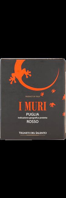 I MURI ROSSO PUGLIA 3 LTR BIB