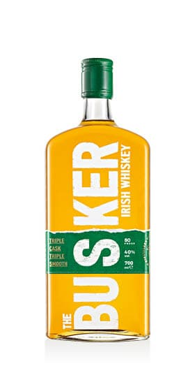Irish Whiskey Triple Cask Triple Smooth The Busker